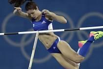 Olympijskou vítězkou ve skoku o tyči je Řekyně Stefanídiová