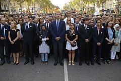 Král Felipe VI. v Barceloně