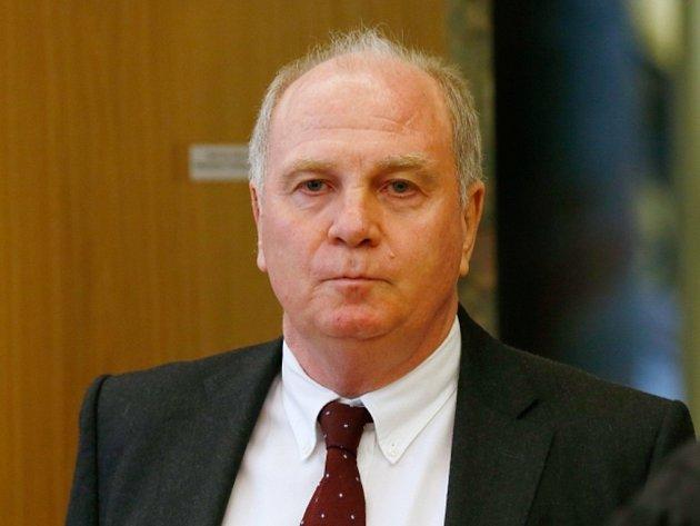 Prezident Bayernu Mnichov Uli Hoeness.