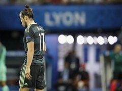Smutný Gareth Bale po prohraném semifinále.
