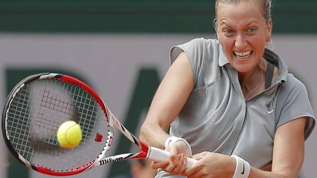 Petra Kvitová na Roland Garros.