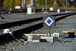 Železniční trať. Ilustrační snímek