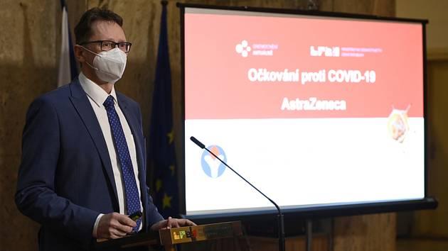 Předseda České vakcinologické společnosti Roman Chlíbek