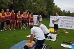 Klub FK Dukla Jižní Město uspořádal ve spolupráci s Vodní záchrannou službou ČČK kurz první pomoci pro dvacet mládežnických trenérů.