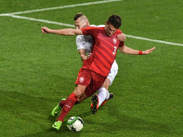 Aleš Matějů (vpředu) a Adam Zrelak ze Slovenska.
