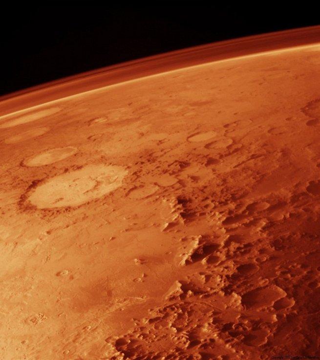 Mars. Ilustrační snímek