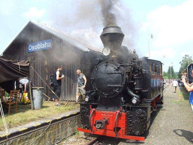 železnice historie úzkorozchodná parní lokomitiva Resita Osoblažsko