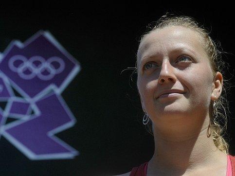 Petra Kvitová v olympijském Londýně.