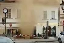 Výbuch plynu v Masné ulici
