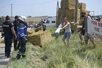 Protesty farmářů přerušily 16. etapu Tour de France