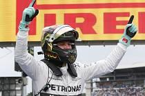 Velkou cenu Německa naposledy vyhrál Nico Rosberg