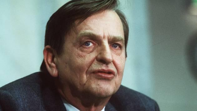 Na snímku z 12. prosince 1983 Olof Palme, švédský premiér, který byl 28. února 1986 ve Stockholmu zavražděn