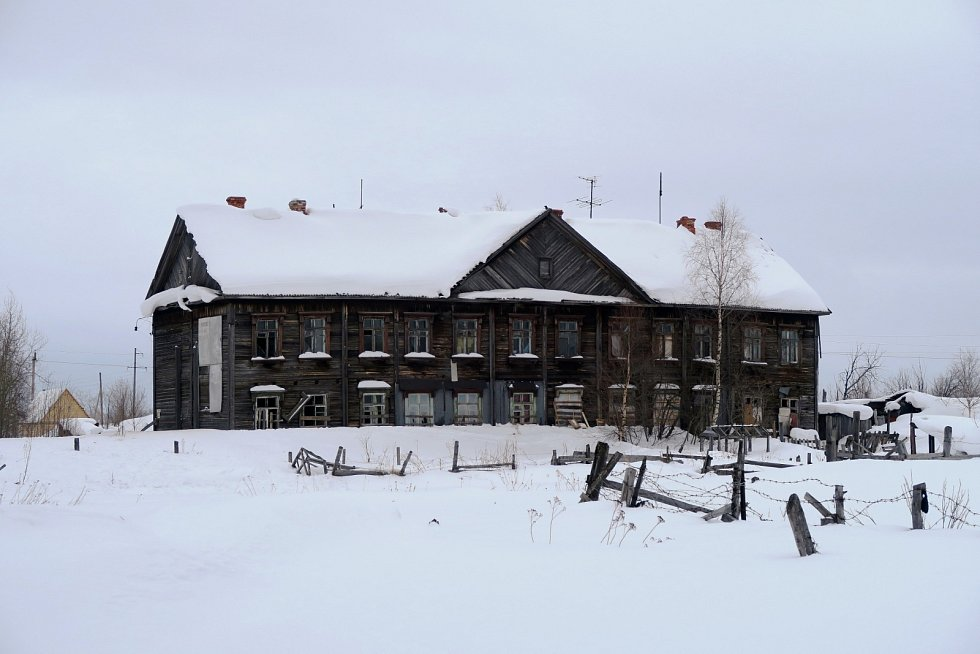 Vazební věznice č. 1 Pečorlagu, poslední dobová památka Gulagu v Pečoře.