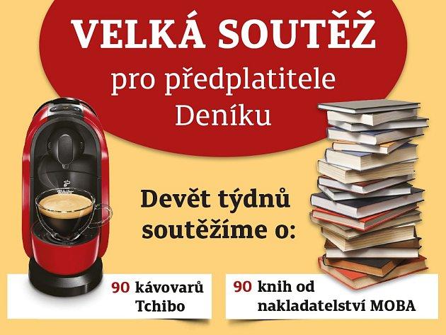 Soutěžte s Deníkem o 90 kávovarů