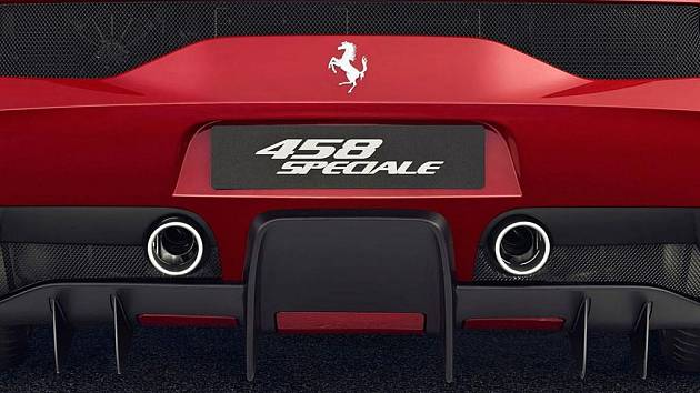 Ferrari 458 Speciale.