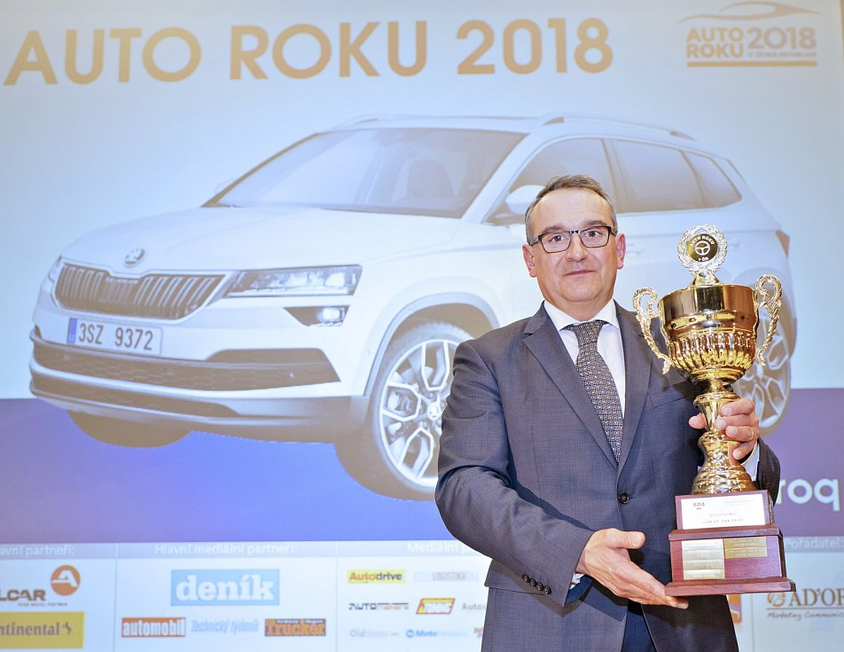 Autem roku 2018 byla vyhlášena Škoda Karoq
