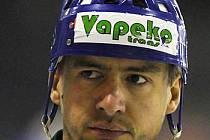 Kapitán hokejové Bohemky Ronald Schubert.