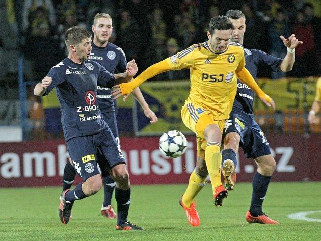 Vysočina Jihlava vs. 1. FC Slovácko.