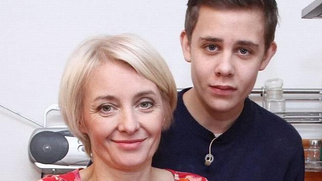 Veronika Žilková a Vincent