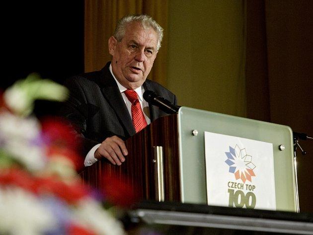 Prezident Miloš Zeman vystoupil 6. června v Praze se svým projevem na Pražské mezinárodní konferenci.