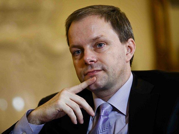 Ministr školství a tělovýchovy Marcel Chládek.
