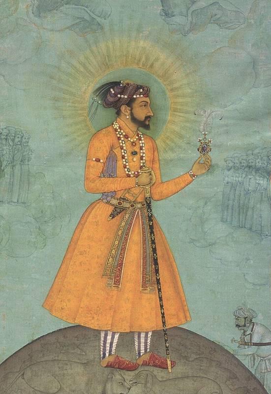 Císař Šháhdžahán. Právě on nechal postavit ikonické mauzoleum Tádž Mahal.