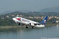 Letadlo z flotily Travel Service