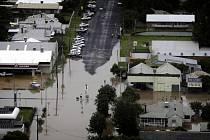 Austrálie, záplavy, ilustrační foto