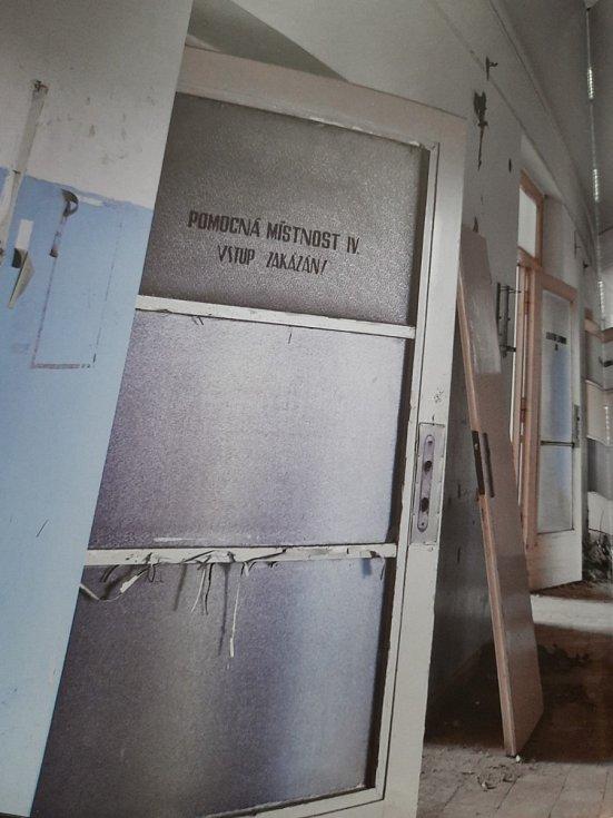 Pavilon A ústecké nemocnice. Fotografie z knihy Urbex: Neznámá místa