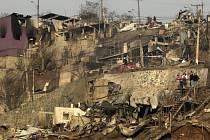 Požár v chilském Valparaísu zabil 16 lidí.