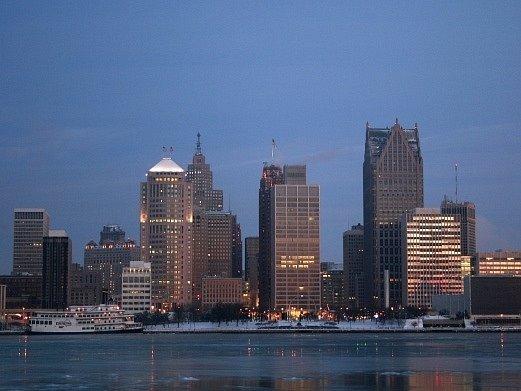 Detroit. Ilustrační foto