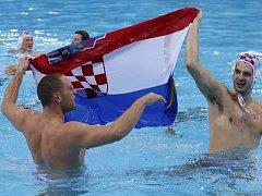 Vodní pólisté Chorvatska vyhráli olympijské hry v Londýně.
