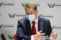 Prezident Svazu obchodu a cestovního ruchu ČR Tomáš Prouza.