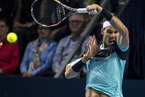 Rafael Nadal na turnaji v Basileji.