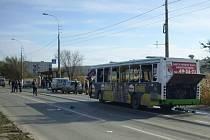 Říjnový výbuch v autobusu ve Volgogradu na jihovýchodě Ruska.
