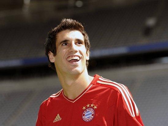Javier Martinez z Bayernu - nejdražší posila v historii bundesligy.