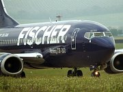 Letadlo Boeing z flotily bývalé Fischer Air podnikatele Václava Fischera.