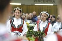 Otevírání pramenů a zahájení lázeňské sezony se konalo 15. května v hale Vincentky v Luhačovicích.