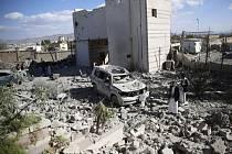 Raketa zasáhla zdravotnické centrum MSF ve městě Razá v severojemenské provincii Saada.