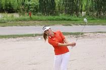 Golfistka Klára Spilková.