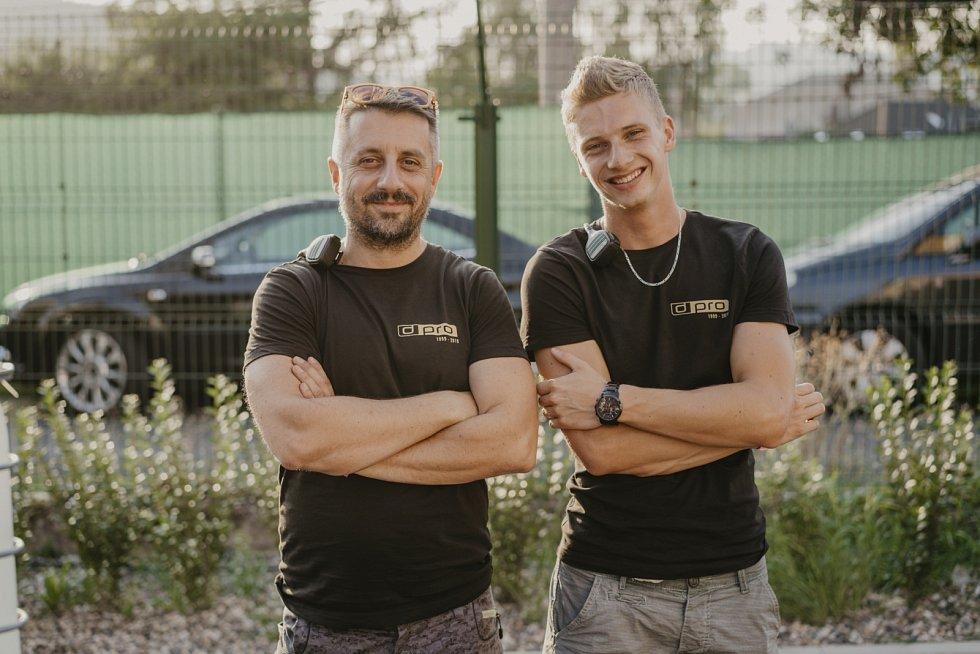 Luboš Machoň a Lukáš Povejšil z agentury Dream Pro.