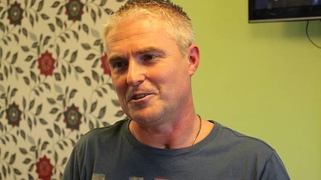 Martin Lupač, rehabilitující pacient po těžké dopravní nehodě