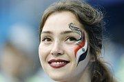 Egyptská fanynka. Fotbalové MS Rusko 2018