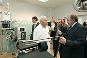 Otevření nově rekonstruovaných operačních sálů v nemocnici v  Berouně.