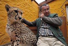 Člen ODS a ředitel Zoo Chleby René Franěk.