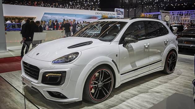 Porsche Cayenne. Ilustrační foto