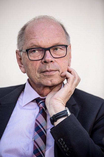 Kandidát na ministra financí Ivan Pilný poskytl 18.května vPraze rozhovor Deníku.