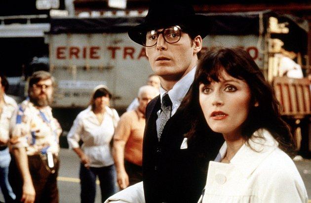 Margot Kidderová ve filmu Superman