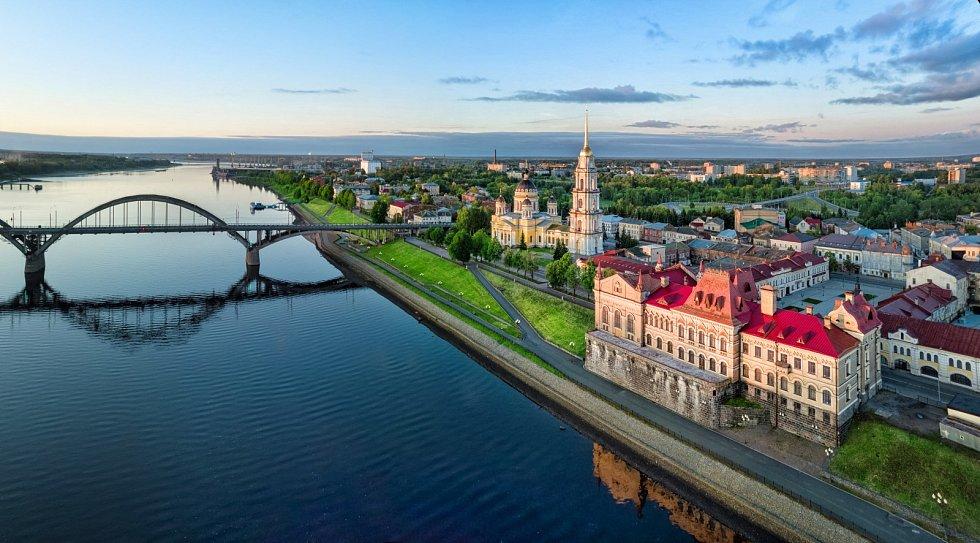 Okolí řeky Volhy je malebné.