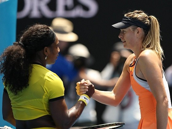 Serena Williamsová opět vyzrála na Marii Šarapovovou
